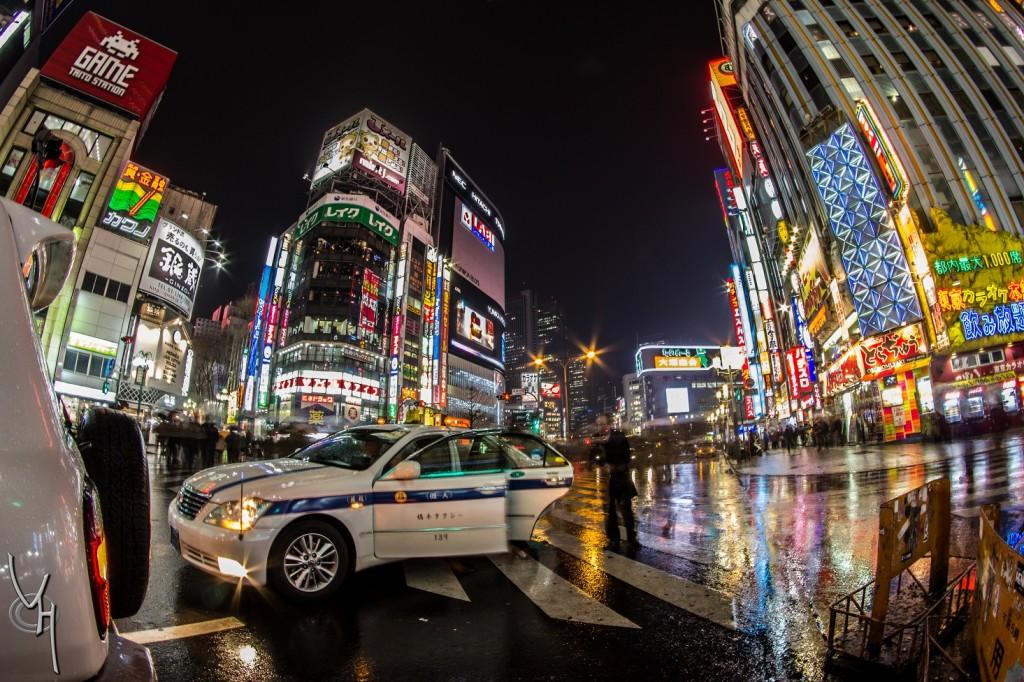 Shinjuku Nuit médium