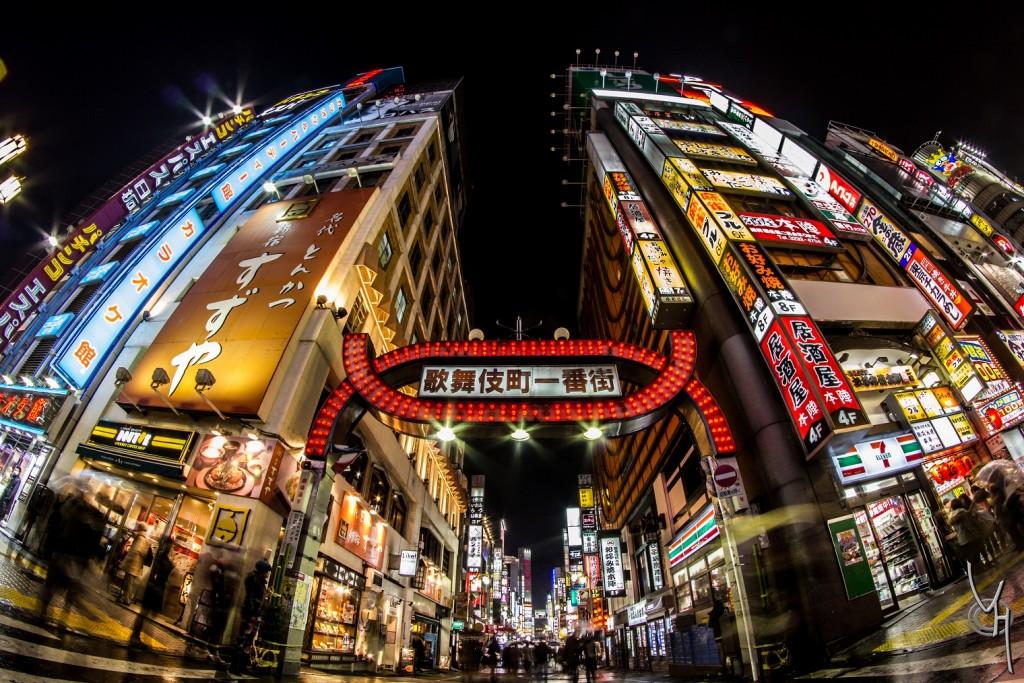 Shinjuku Nuit médium Kabukicho