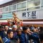 Les habitants participant au Matsuri