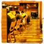 L'intérieur d'un Café Gusto à 5h du mat'